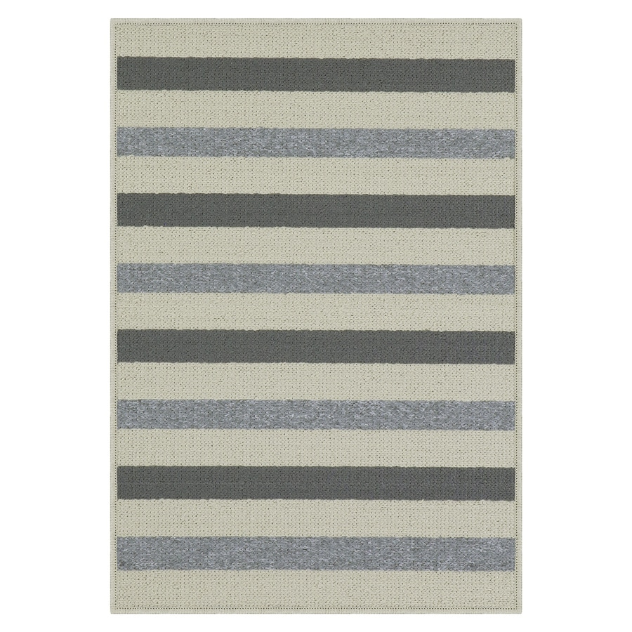 Shop Maples Rugs Grey Sand Rectangular Indoor Machine Made
