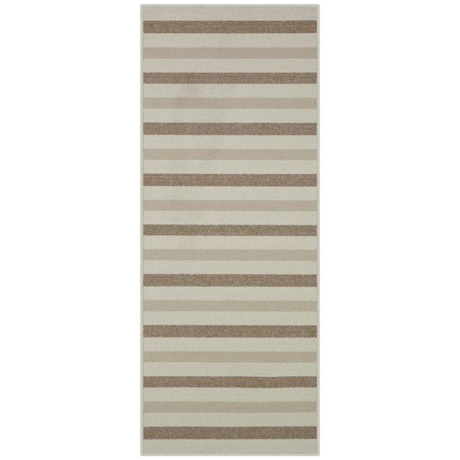 Maples Rugs Beige Indoor Runner Common 2 X 5 Actual 2 Ft W X 5