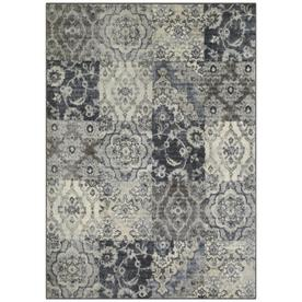 Maples Rugs Value Bay Gray Persian Indoor Distressed Area Rug Common 5 X