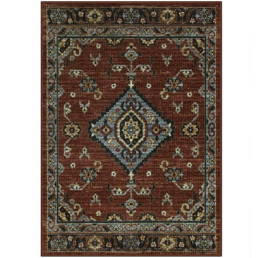 Shop Maples Rugs Value Bay Red Indoor Moroccan Area Rug