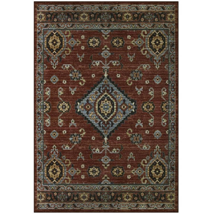 Maples Rugs Value Bay Red Indoor Moroccan Area Rug (Common