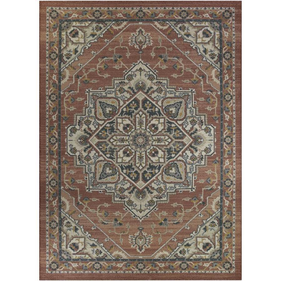 Maples Rugs Value Bay Blush Indoor Area Rug Common 7 X 10 Actual