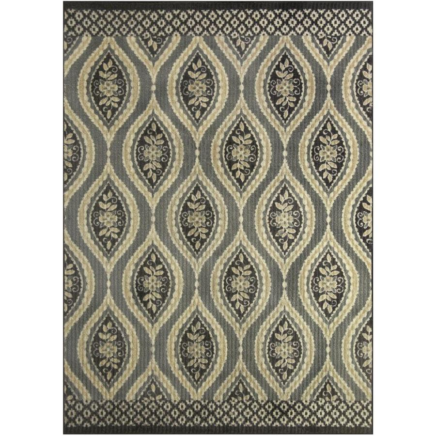 Maples Rugs Value Bay Neutral Indoor Area Rug (Common: 5 X