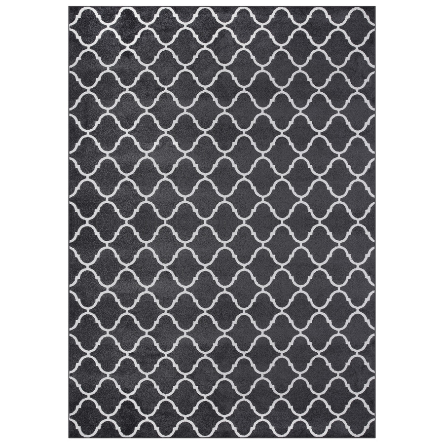 Maples Rugs Value Bay Charcoal/Beige Indoor Area Rug