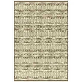 Mda Rugs Cartagena 4 X 6 Cream Brown Indoor Abstract Area Rug In The Rugs Department At Lowes Com