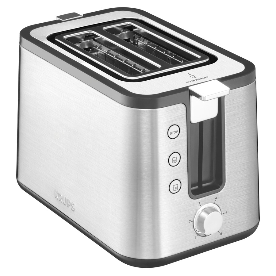 Krups 2-Slice Stainless Steel Toaster At Lowes.com