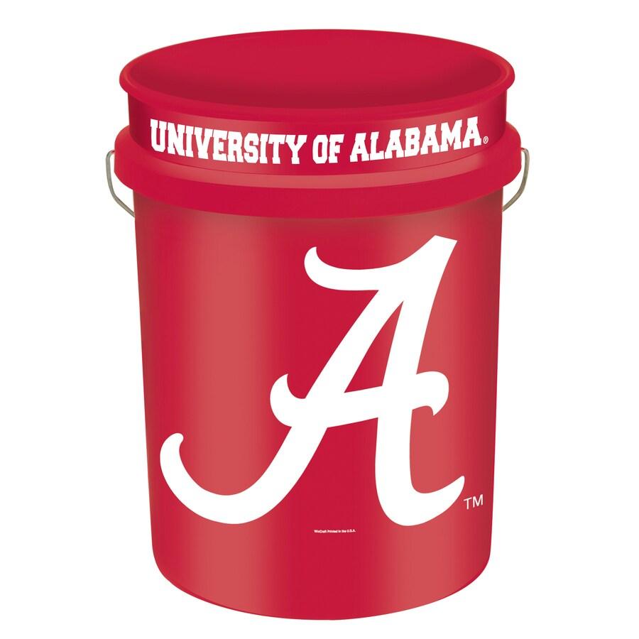 WinCraft Sports Alabama 5-Gallon Plastic Bucket