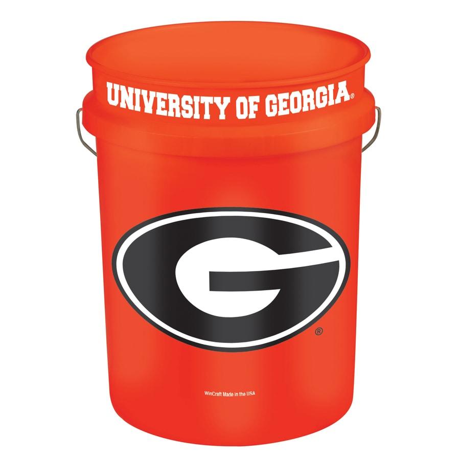 WinCraft Sports Georgia 5-Gallon Plastic Bucket