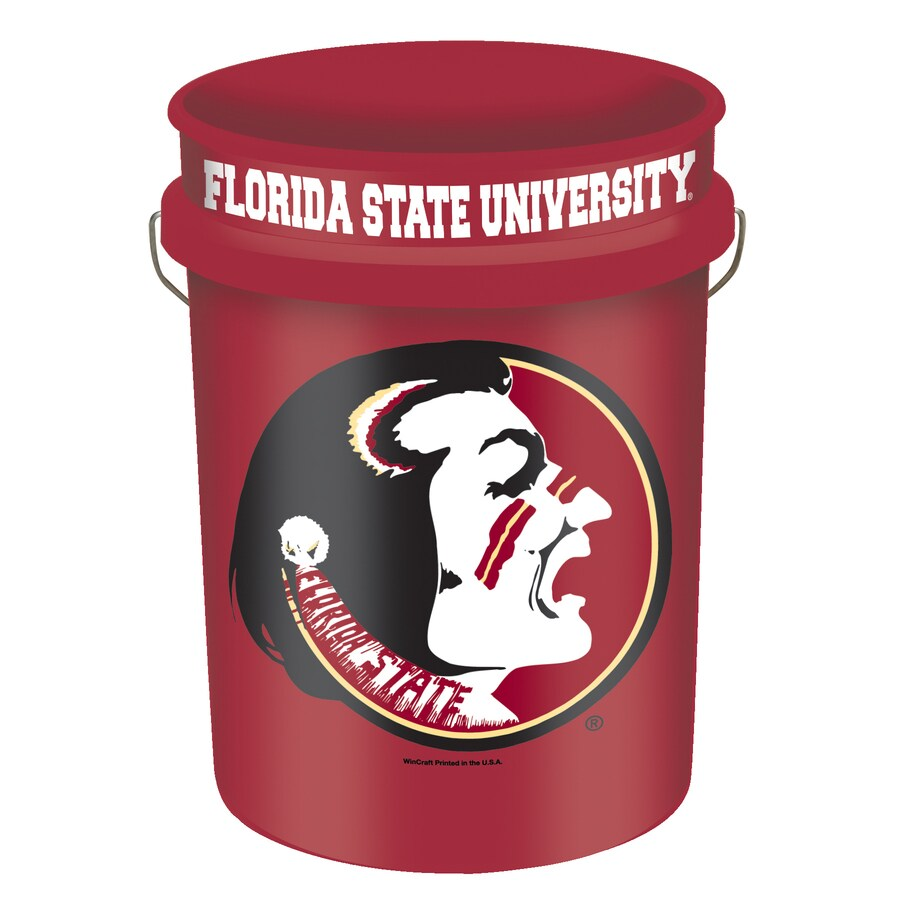 WinCraft Sports Florida State 5-Gallon Plastic Bucket