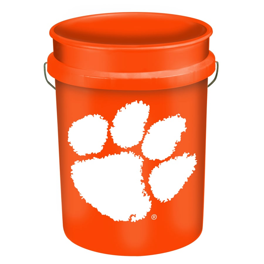 WinCraft Sports Clemson 5 Gallon Plastic Bucket