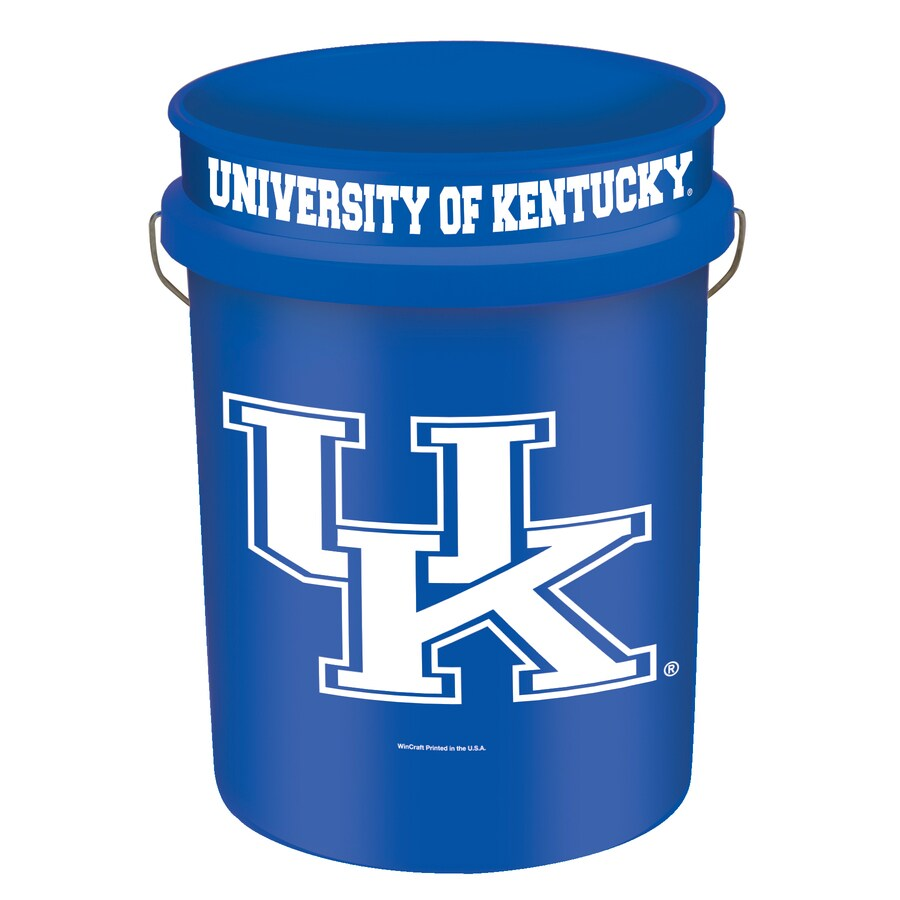WinCraft Sports Kentucky 5-Gallon Plastic Bucket