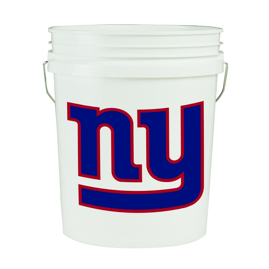 WinCraft Sports New York Giants 5-Gallon Plastic Bucket
