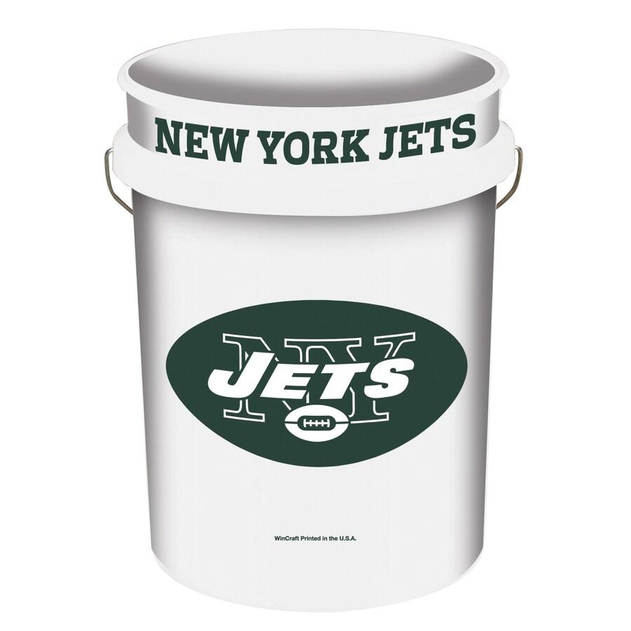 WinCraft Sports New York Jets 5-Gallon Plastic Bucket