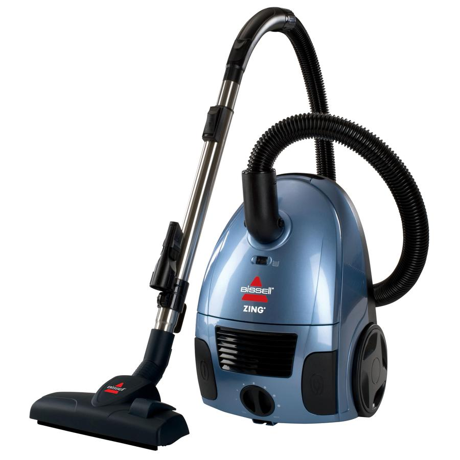 Shop Bissell Canister Vacuum At Lowes Com