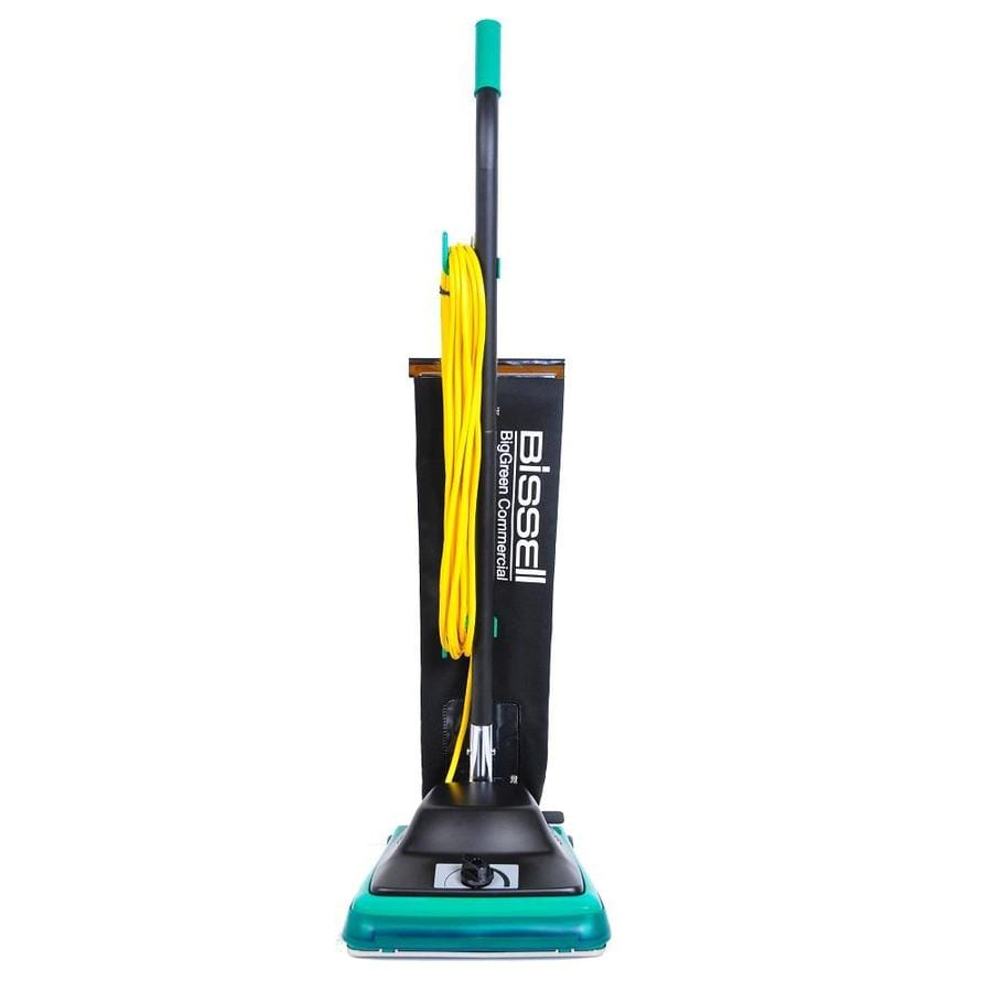 Shop bissell big green commercial protough upright vacuum at lowes com