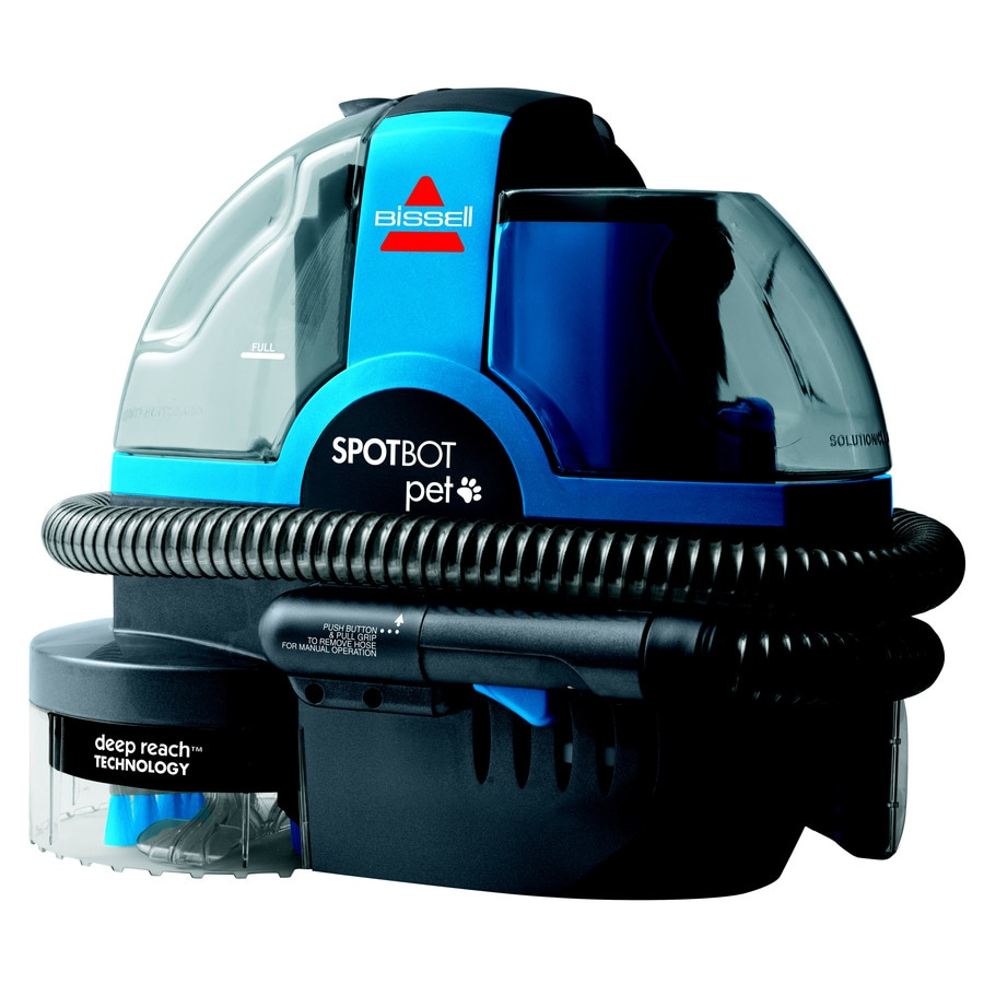 Shop BISSELL SpotBot Pet 0.234-Gallon Portable Carpet Cleaner at Lowes.com