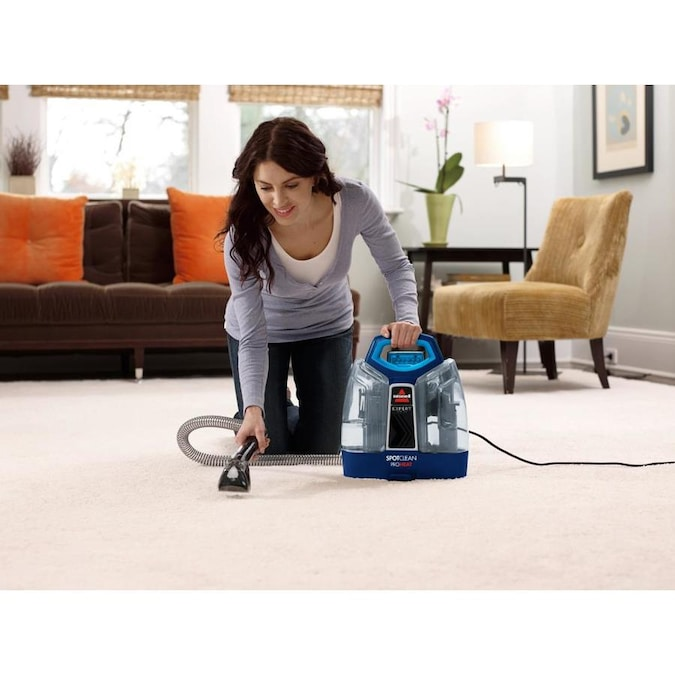 Bissell Spotclean Proheat Carpet Cleaner In The Carpet