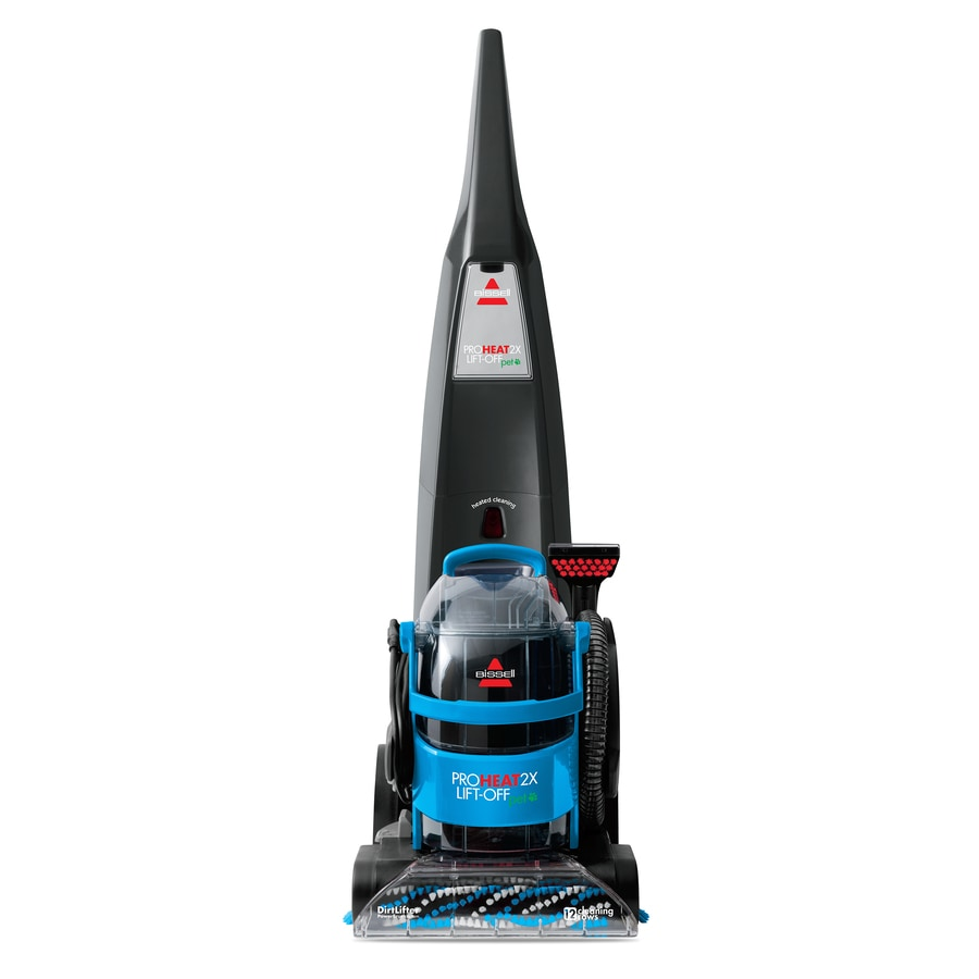 bissell proheat 2x liftoff pet with 1speed 075gallon upright carpet cleaner