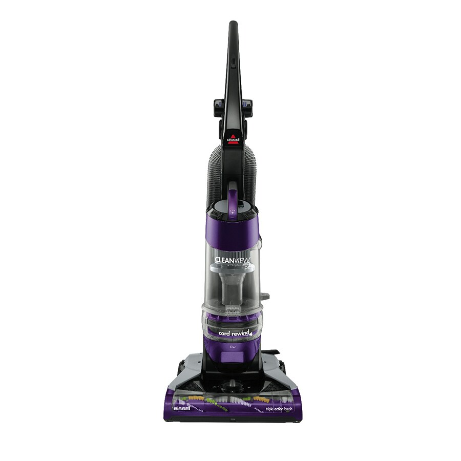 BISSELL Cleanview Deluxe Pet with Cord Rewind Bagless Upright Vacuum