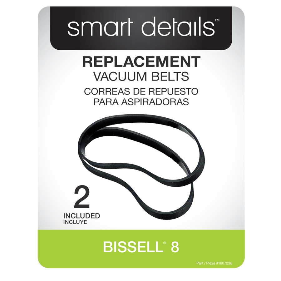 smart details 2-Pack Vacuum Belt for Bissell 8