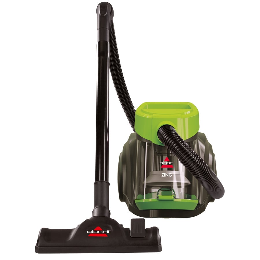 Shop Bissell Zing Bagless Canister Vacuum At Lowes Com