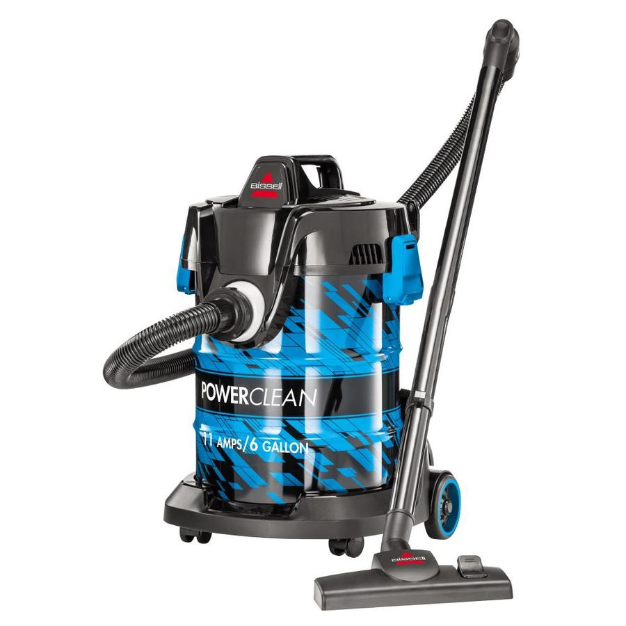 Bissell Powerclean Wet Dry Canister Vacuum At Lowes Com