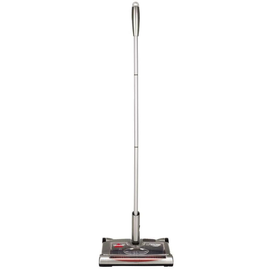 BISSELL Perfect Sweep Turbo Rechargeable Battery Carpet And Hard Surface Floor Sweeper