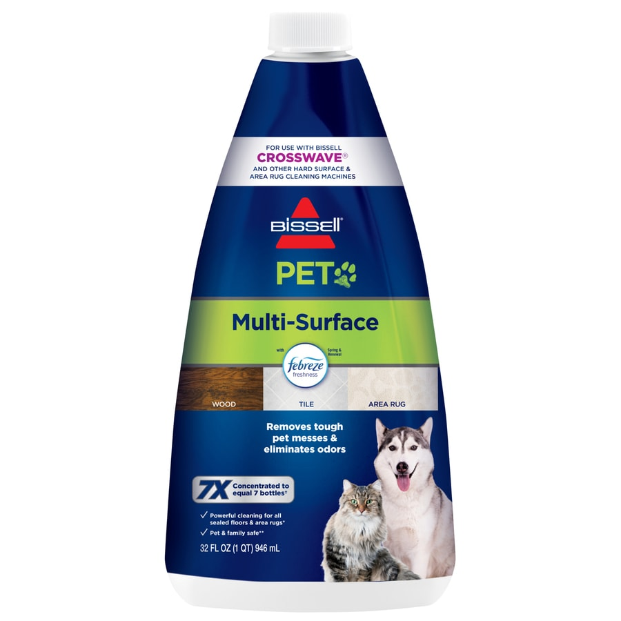 Bissell Crosswave Multi Surface Pet With Febreze 32 Fl Oz Concentrated Steam Cleaner Chemical In The Steam Cleaner Chemicals Department At Lowes Com