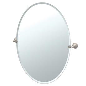 Nickel Bathroom Mirrors At Lowes Com