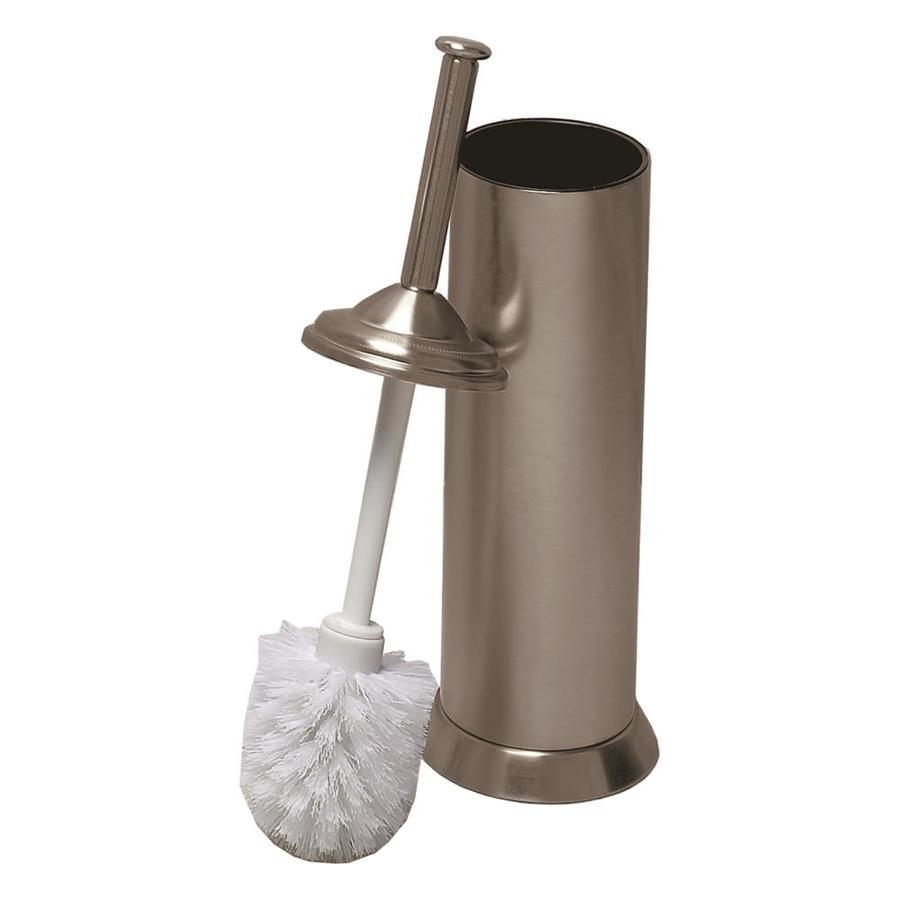 Gatco Satin Nickel Metal Toilet Brush Holder