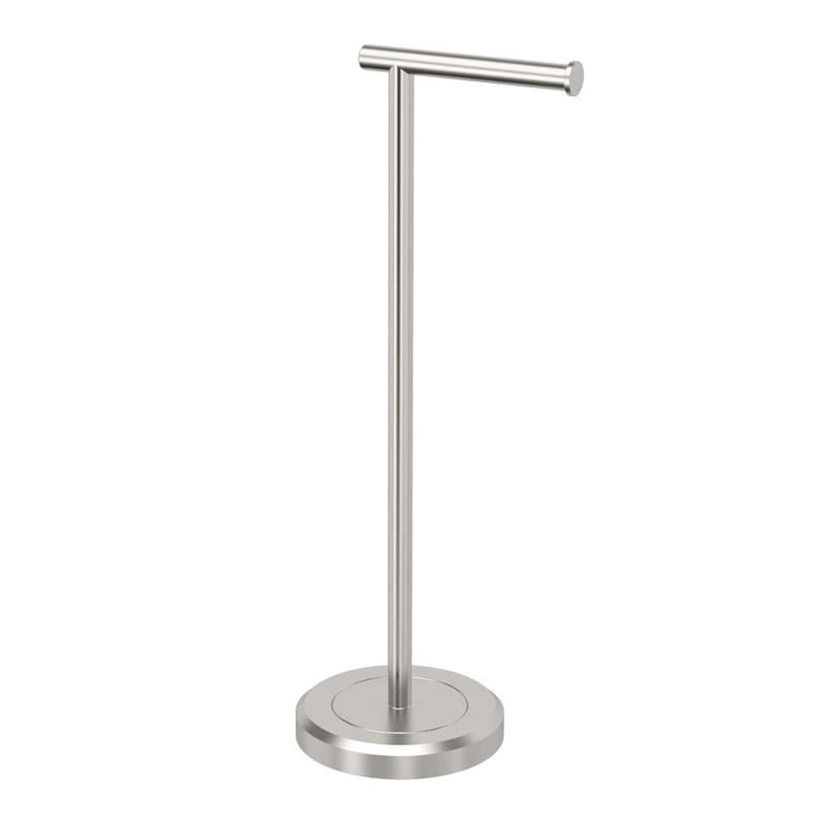 Shop Gatco Latitude 2 Satin Nickel Freestanding Floor