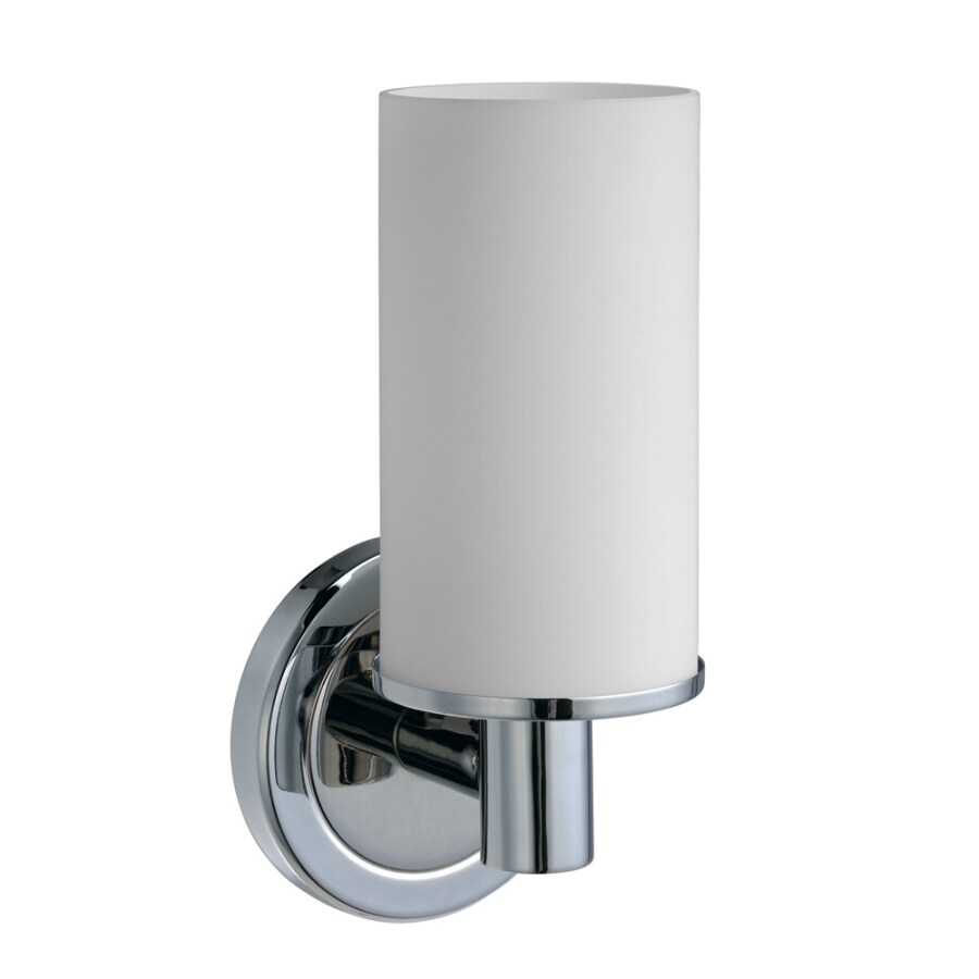 Gatco Latitude 2 4.5-in W 1-Light Chrome Arm Wall Sconce