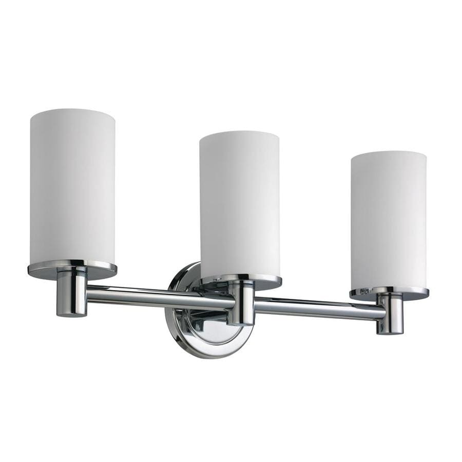 Gatco Latitude 2 3-Light Chrome Cylinder Vanity Light