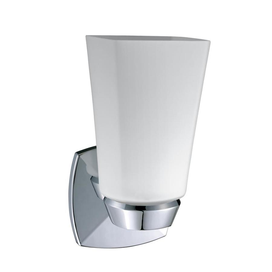 Gatco Jewel 4.5-in W 1-Light Chrome Arm Wall Sconce
