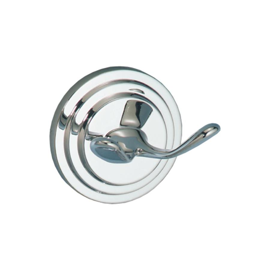 Gatco Marina 2-Hook Chrome Robe Hook