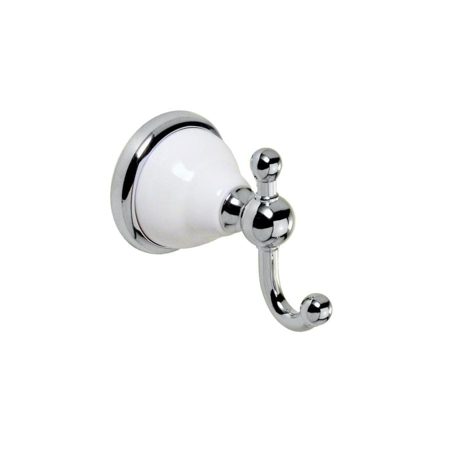 Gatco Franciscan 2-Hook Chrome Robe Hook