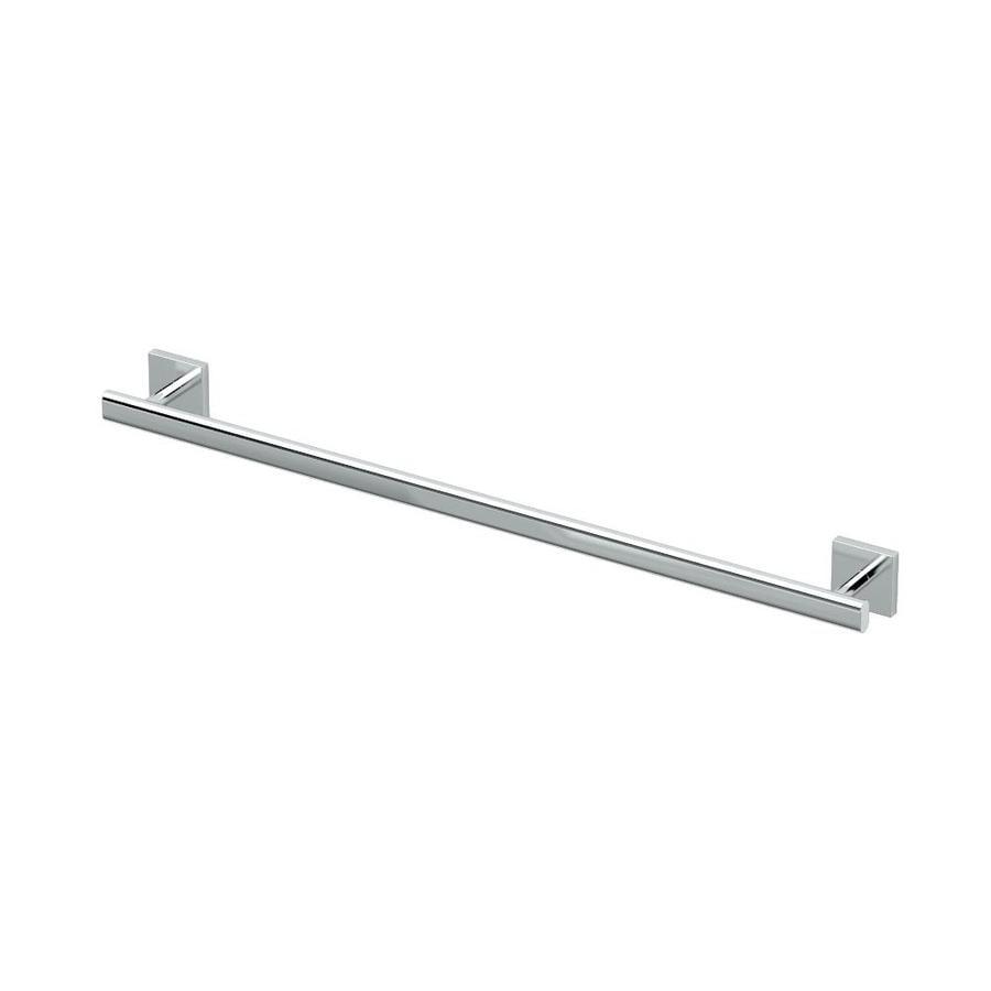 Gatco Elevate Chrome Single Towel Bar (Common: 24-in; Actual: 28.75-in)