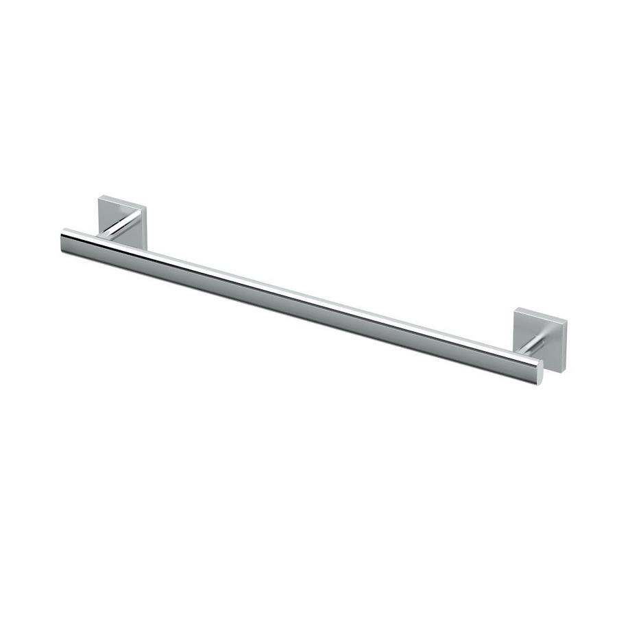 Gatco Elevate Chrome Single Towel Bar (Common: 18-in; Actual: 21.5-in)