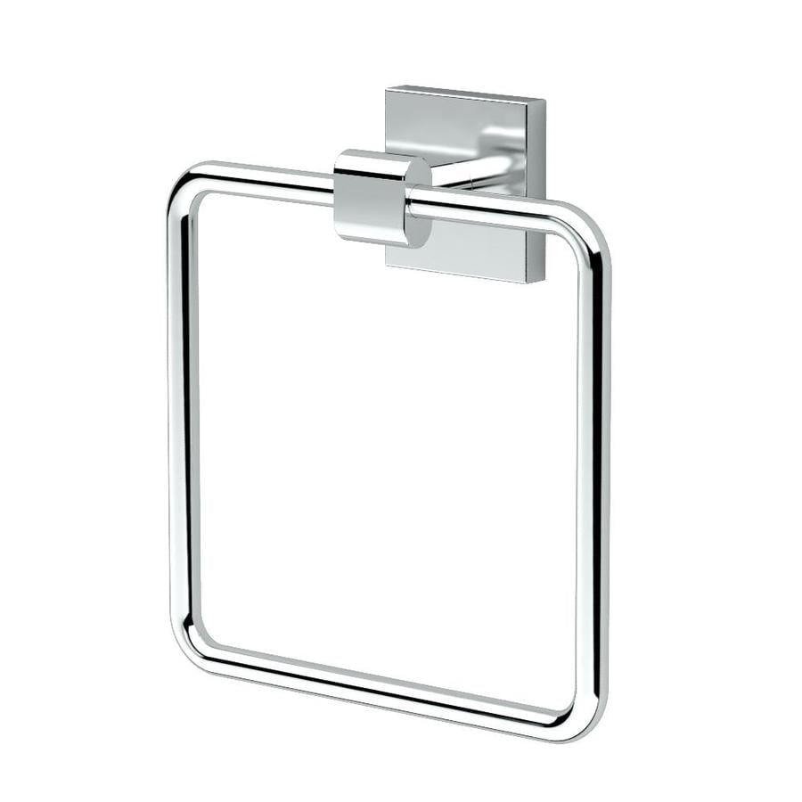 Gatco Elevate Chrome Wall Mount Towel Ring