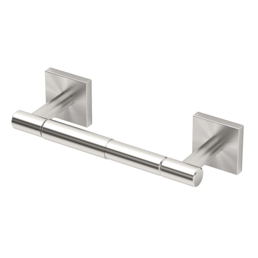 Gatco Elevate Satin Nickel Surface Mount Spring-Loaded Toilet Paper Holder