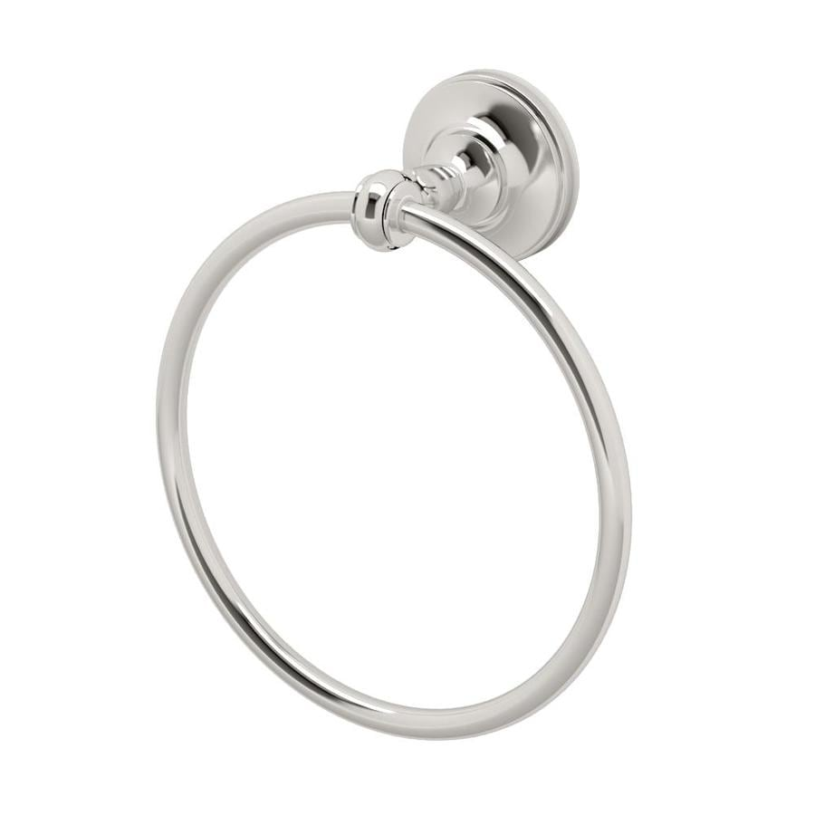 Gatco Tavern Polished Nickel Wall Mount Towel Ring