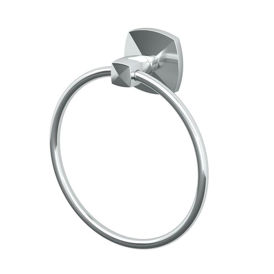 Gatco Jewel Chrome Wall Mount Towel Ring