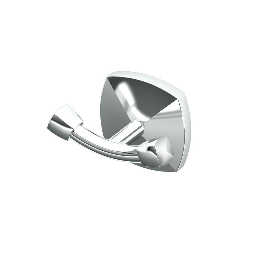 Gatco Jewel 2-Hook Chrome Towel Hook