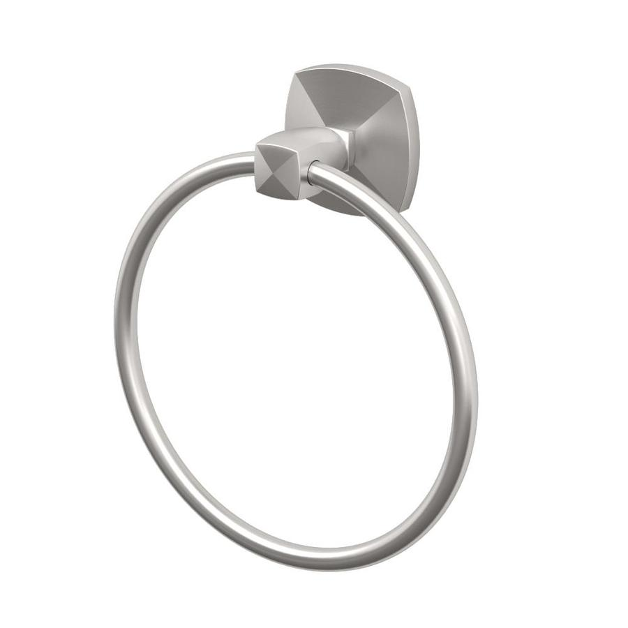 Gatco Jewel Satin Nickel Wall Mount Towel Ring