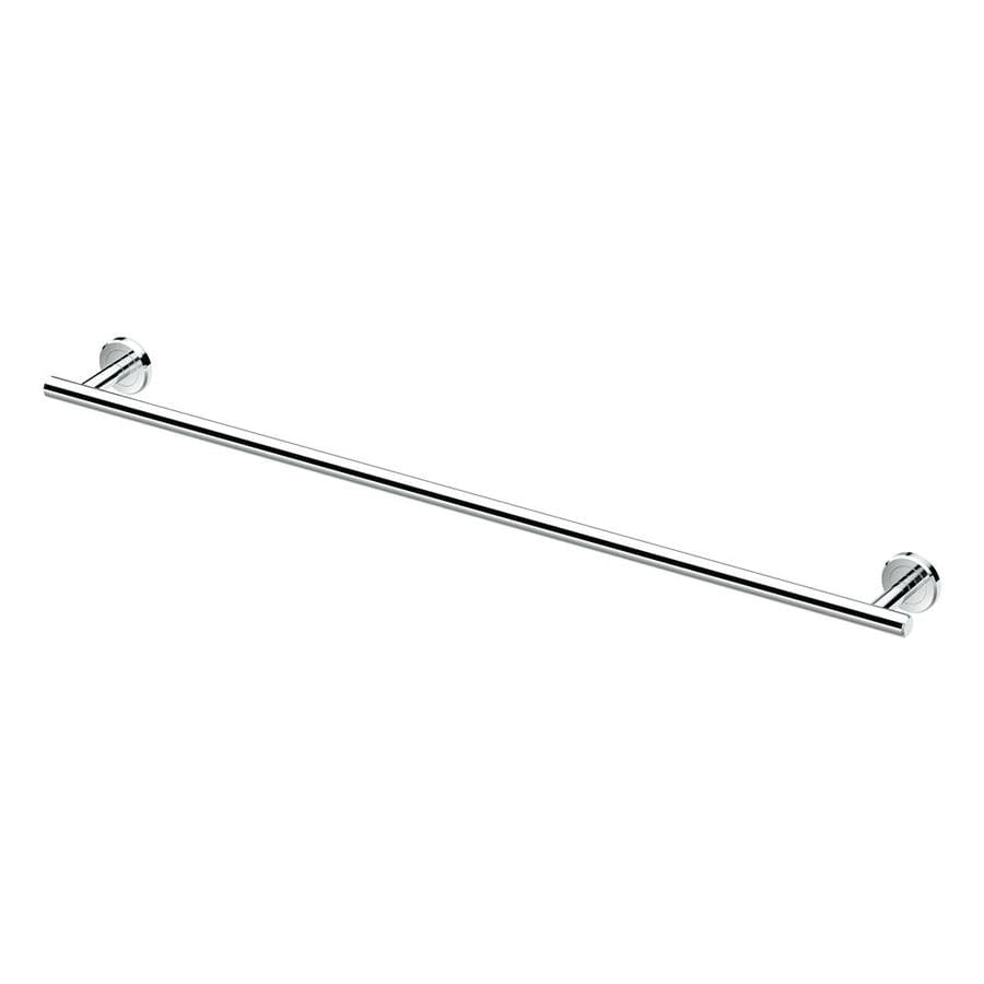 Gatco Latitude 2 Chrome Single Towel Bar (Common: 24-in; Actual: 26-in)
