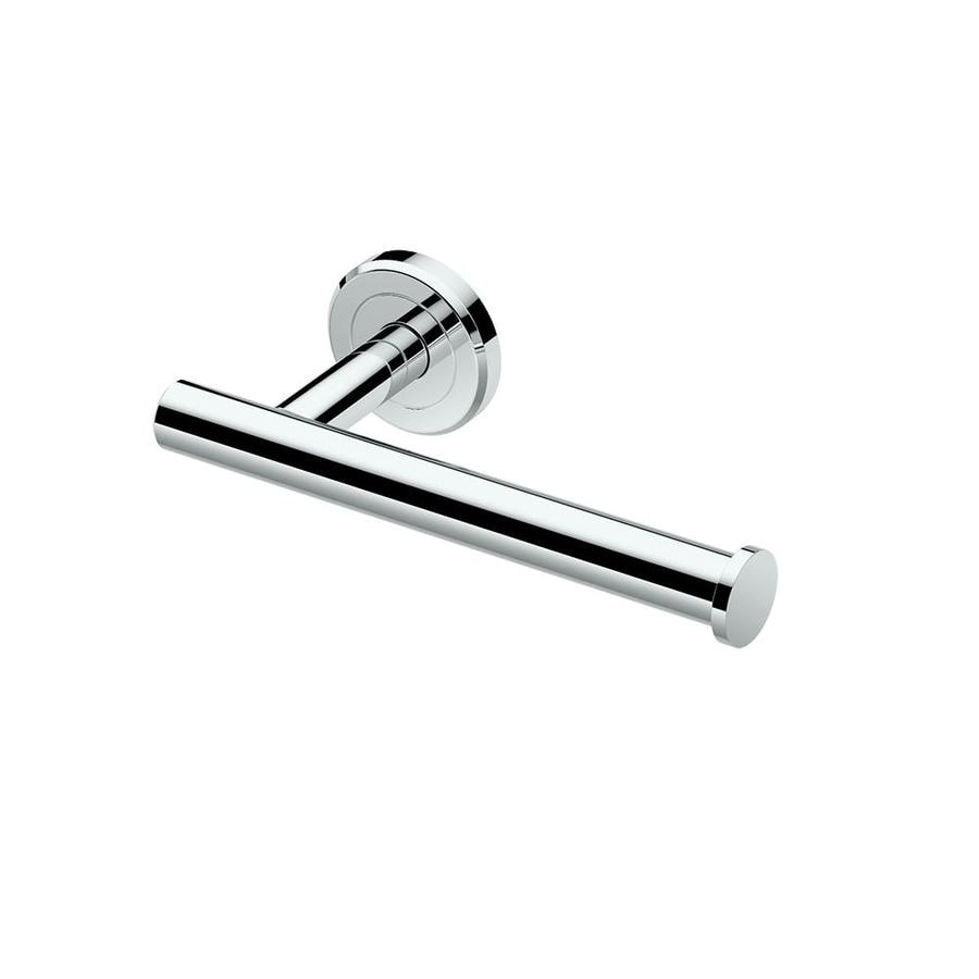 Shop Gatco Latitude 2 Chrome Surface Mount Toilet Paper Holder At