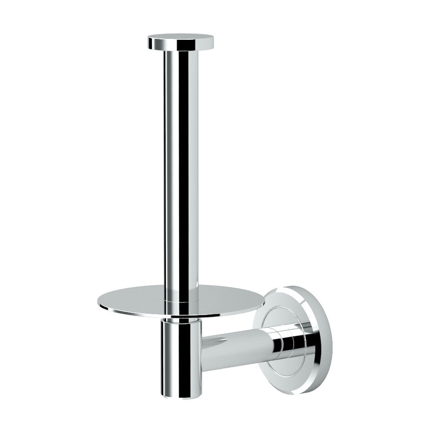 Gatco Latitude 2 Chrome Surface Mount Single Post with Arm Toilet Paper Holder