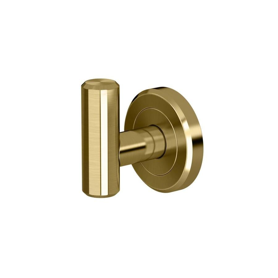 Gatco Latitude 2 Brushed Brass Towel Hook