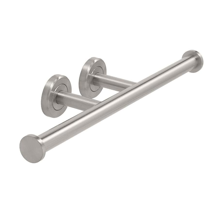 Gatco Latitude 2 Satin Nickel Surface Mount Single Post with Arm Toilet Paper Holder