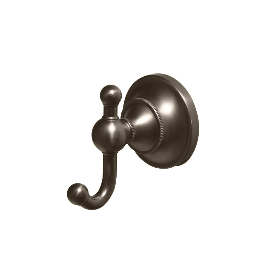 Gatco Tiara 2-Hook Bronze Robe Hook